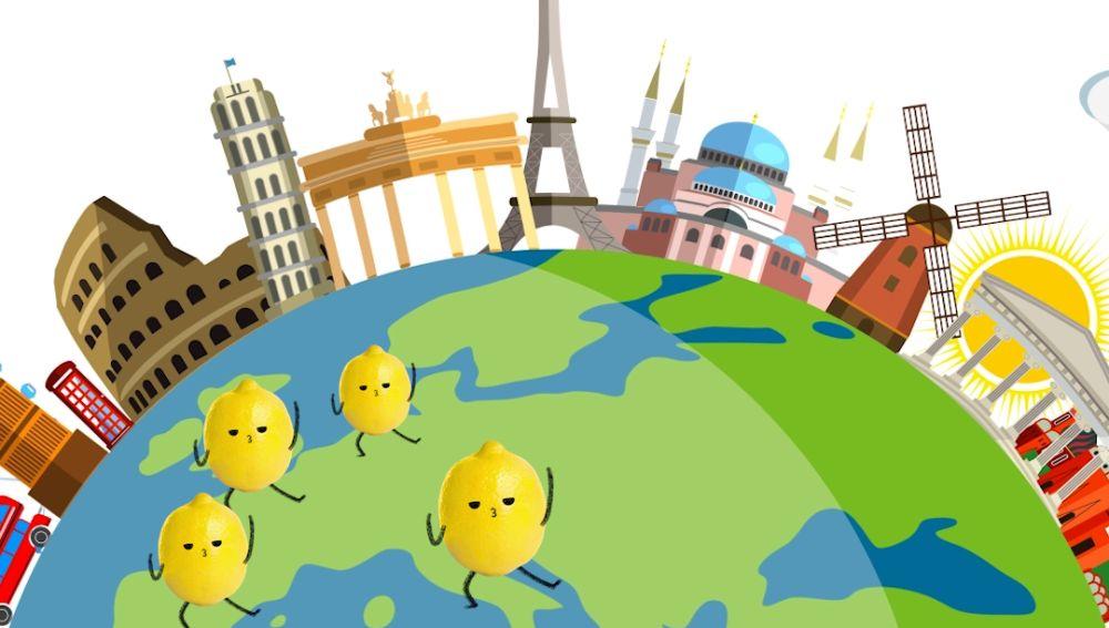 En solo 48 horas, el limón europeo puede pasar del árbol al lineal de cualquier supermercado de Europa