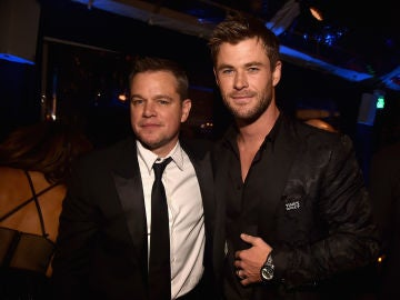Matt Damon y Chris Hemsworth