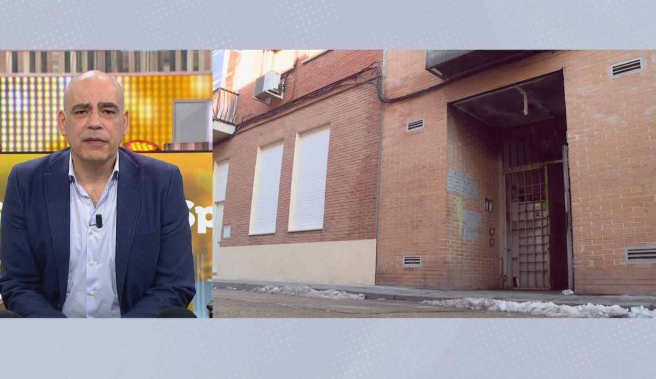 """La opinión de los vecinos de Miguel Ricart sobre la casa okupa en la que fue hallado: """"Es muy conflictiva"""""""