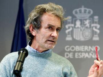 Comparecencia de Fernando Simón sobre el coronavirus hoy lunes 18 de enero, streaming en directo