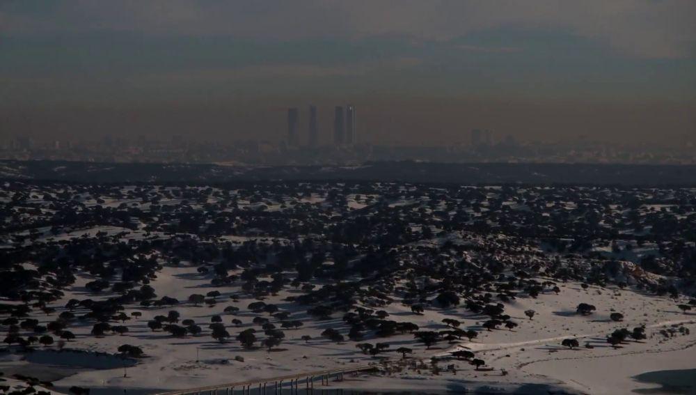 Boina de contaminación en la Comunidad de Madrid