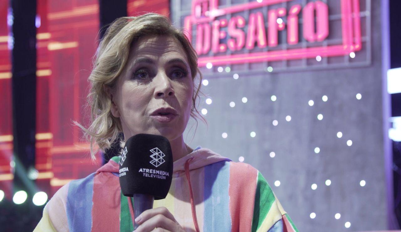 """Ágatha Ruiz de la Prada: """"Me gustó mucho conducir la excavadora, aunque fue dificilísimo"""""""