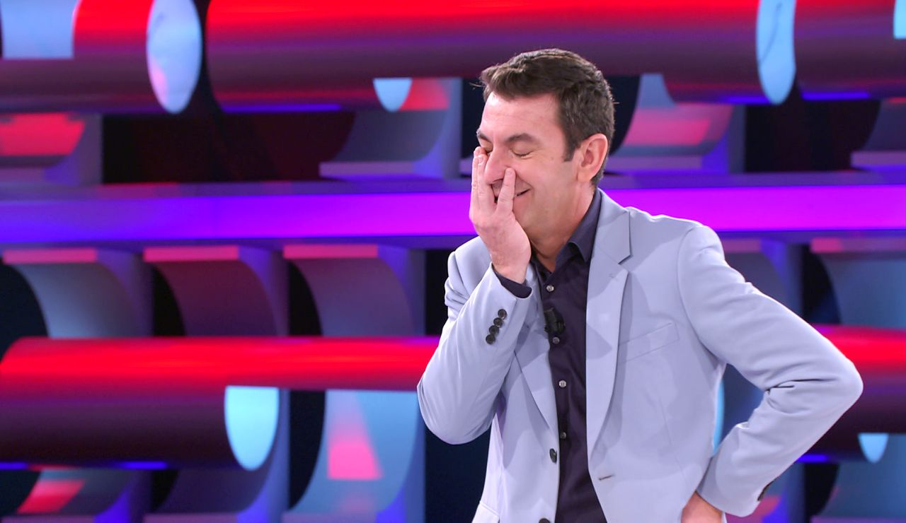 """""""¡Por ahí sí que no paso!"""": El despiste más inesperado de Arturo Valls en '¡Ahora caigo!'"""