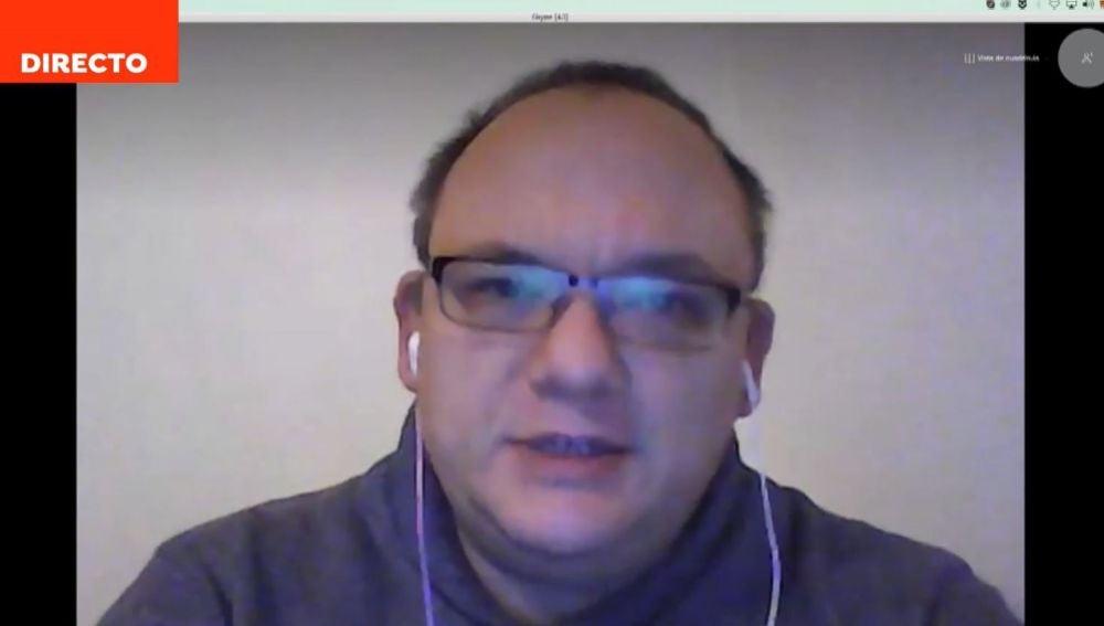 Alejandro Guillén, investigador del sueño