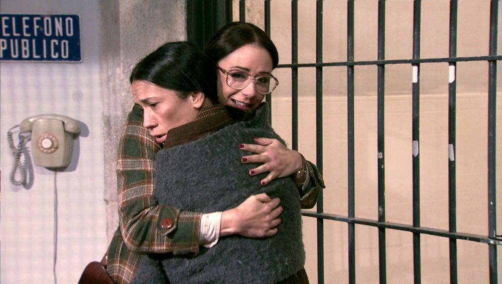 Cristina visita a Manolita en prisión