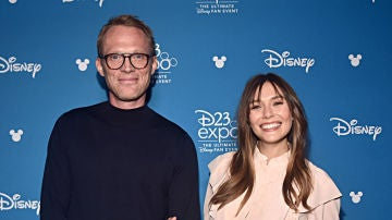 Paul Bettany y Elizabeth Olsen