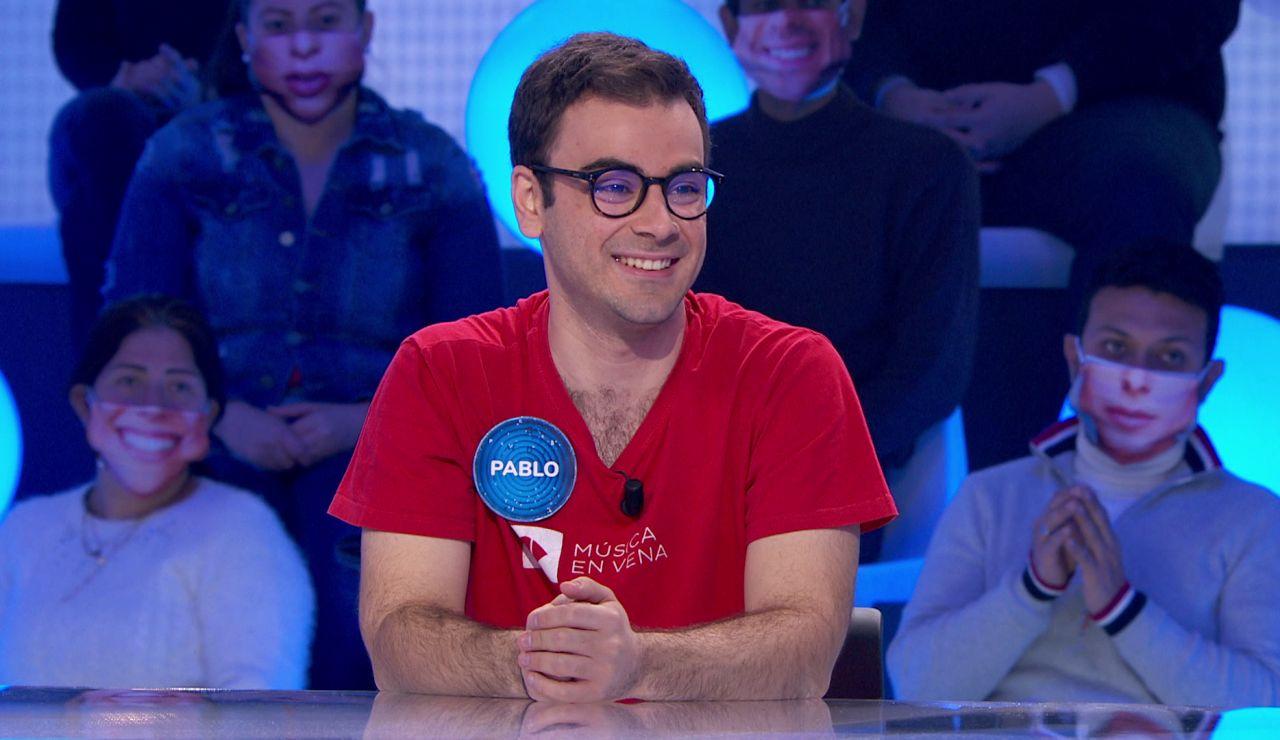La próxima meta de Pablo en 'Pasapalabra': Superar a Jero en dinero acumulado