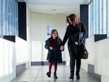 Trasplante con éxito en una niña en España