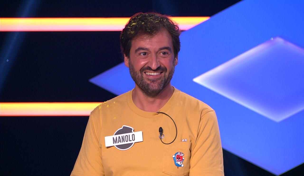 La bonita proposición de Manolo, de 'Los dispersos', a Montse, de 'Los caligaris' en '¡Boom!'