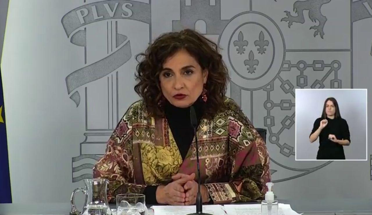 """María Jesús Montero: """"Se han administrado el 70% de las vacunas de coronavirus"""""""