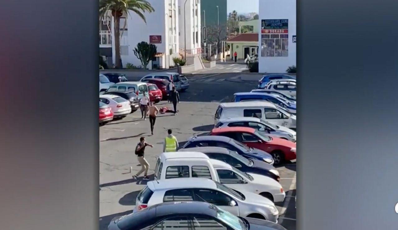 Peleas de inmigrantes en Canarias