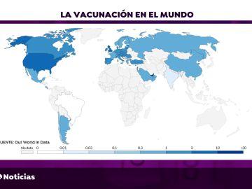 África solo ha suministrado 25 vacunas del coronavirus a su población