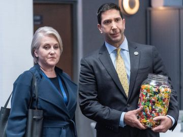 David Schwimmer en 'Intelligence'