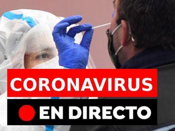 Coronavirus España hoy: última hora de contagios y restricciones hoy 19 de enero, en directo