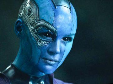 Karen Gillian como Nebula en 'Guardianes de la Galaxia'