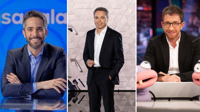 Antena 3 conquista también la milla de oro de la televisión con 'Pasapalabra', Antena 3 Noticias y 'El Hormiguero 3.0'