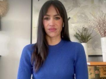 Begoña Villacís, en una entrevista en Espejo Público de Antena 3
