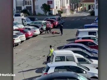 pelea entre inmigrantes en Gran Canaria