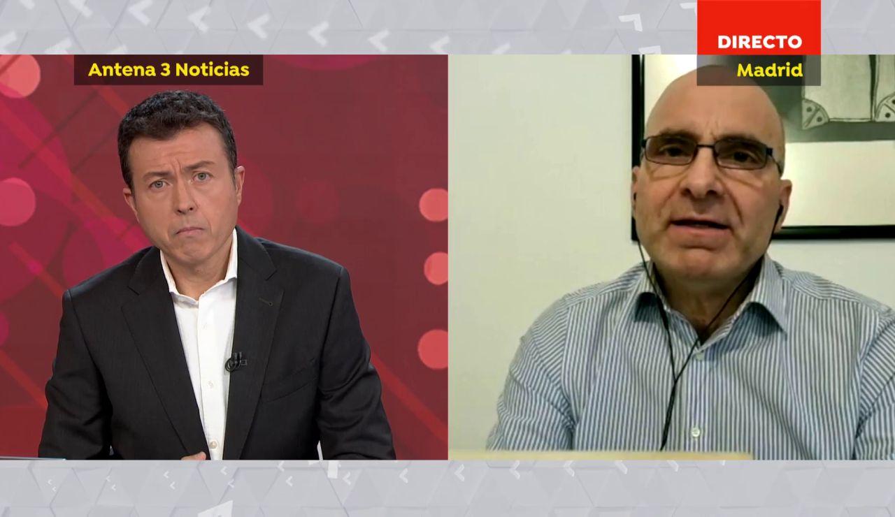 José Antonio López, virólogo en UAM