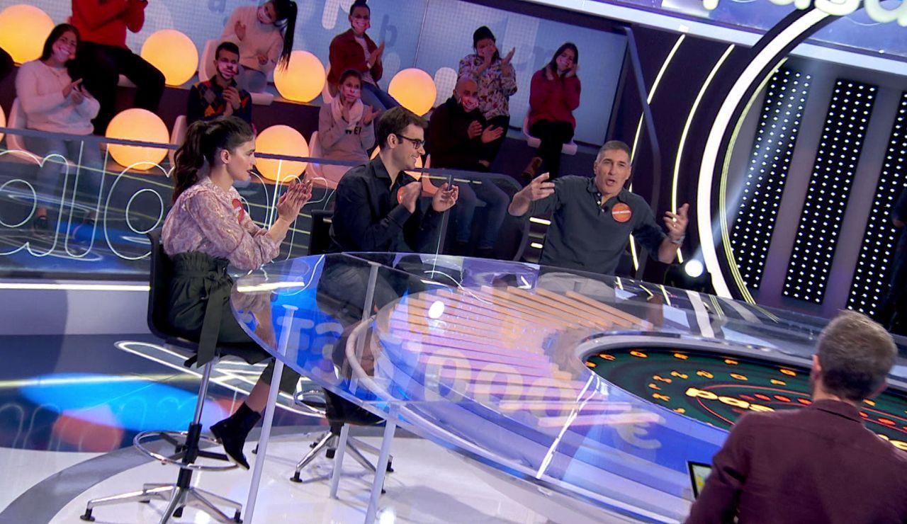 """""""Pasa la bola, macho"""", la divertida queja de José Miguel Antúnez en 'Una de Cuatro'"""