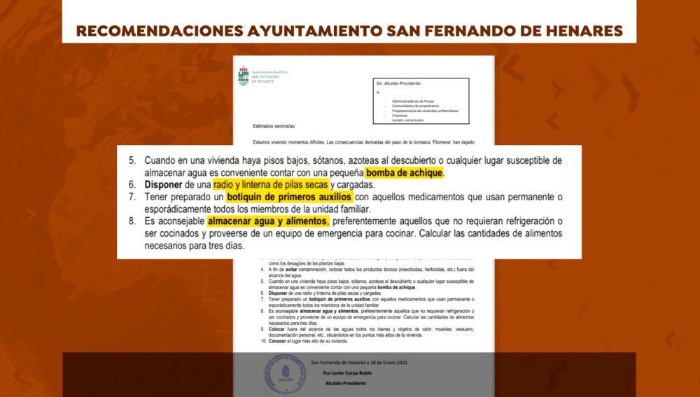 Recomendación San Fernando