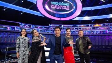 'Veo como cantas', en Antena 3