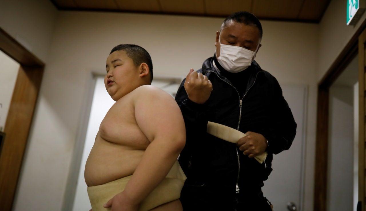 Kyuta Kumagai, la joven promesa del sumo