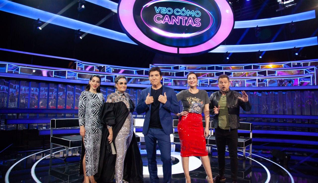 Arrancan las grabaciones de 'Veo cómo cantas', el nuevo gran formato de Antena 3 presentado por Manel Fuentes