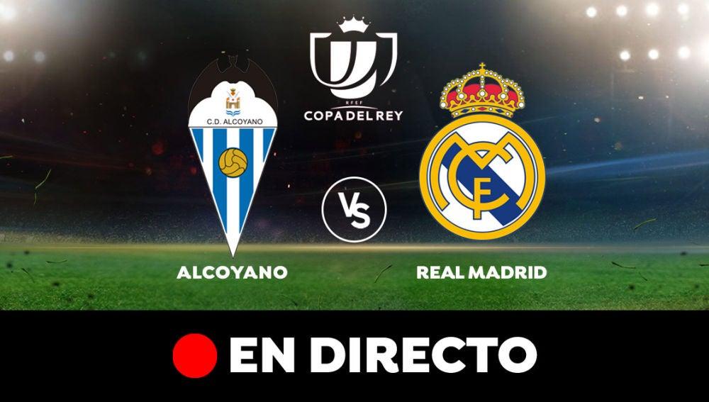 Alcoyano - Real Madrid: Resultado y goles del partido de hoy, en directo   Copa del Rey
