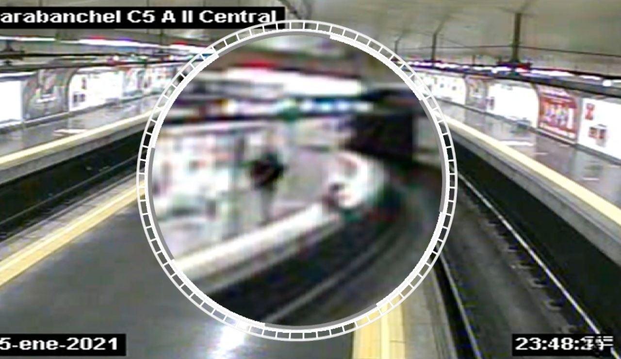 Rescate metro de Madrid