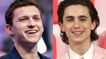 Tom Holland y Timothée Chalamet