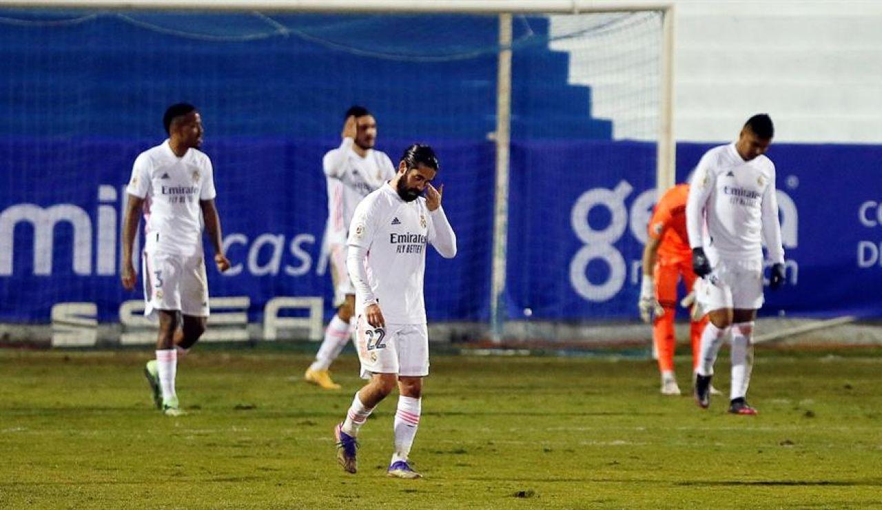 Batacazo histórico de un Real Madrid que cae eliminado ante el Alcoyano en Copa del Rey