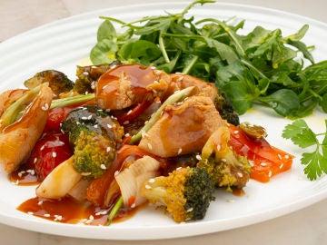 La receta con toque japonés, de Karlos Arguiñano: pollo teriyaki
