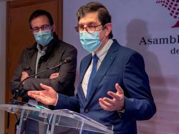 El consejero de Salud de Murcia, Manuel Villegas