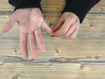 Ejercicios circulación de las manos
