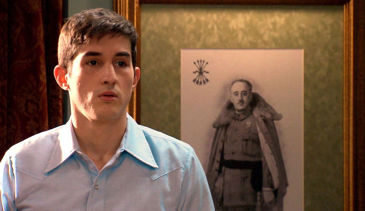 Tito, decidido a confesar ante la atónita mirada de Beltrán