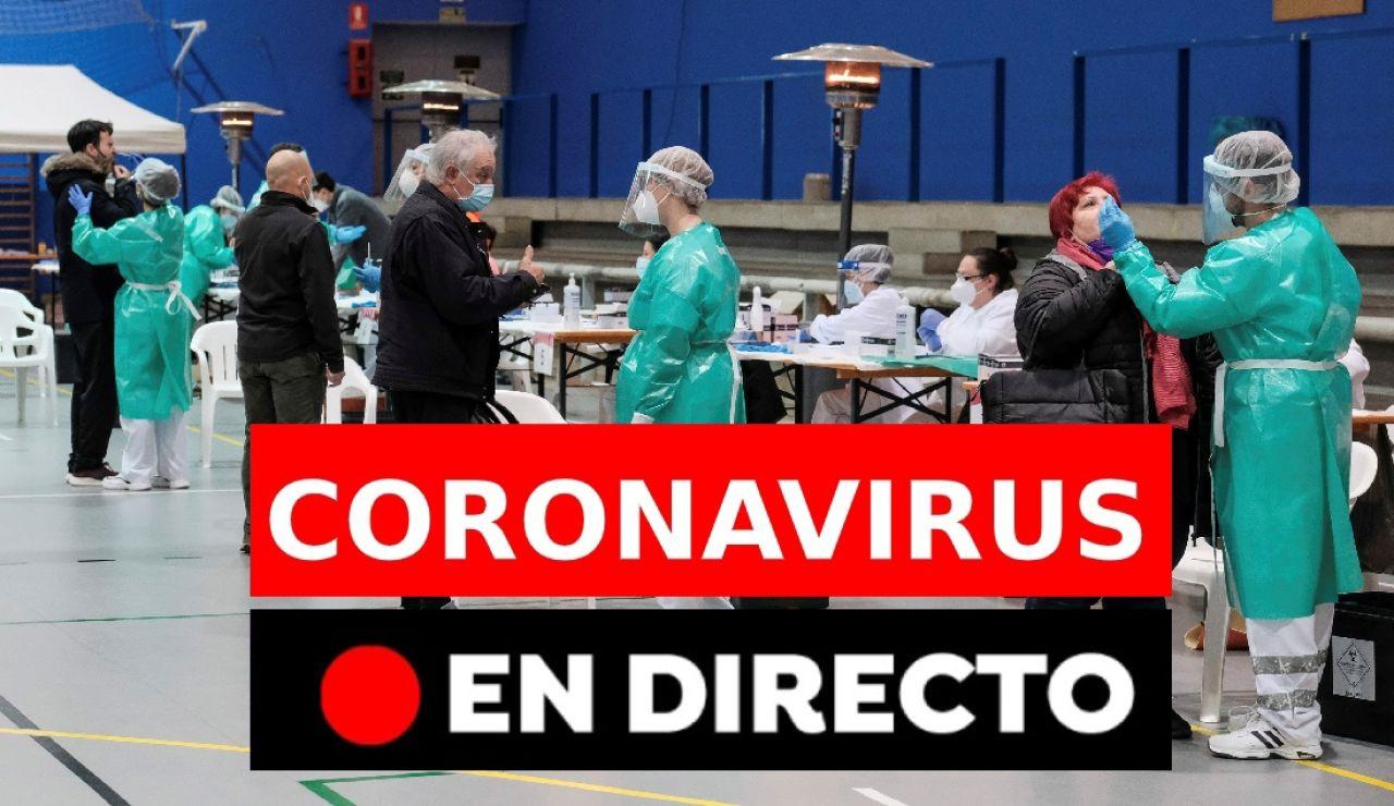 Coronavirus en España: Última hora de las restricciones y confinamientos en directo