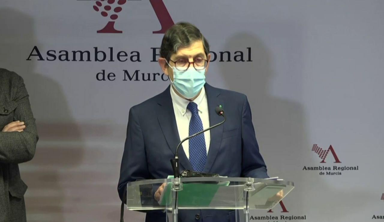Manuel Villegas, consejero de Salud en Murcia