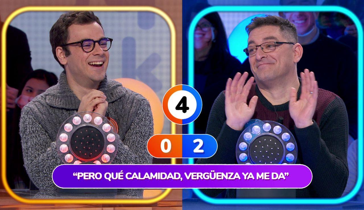 """¡Inaudito! Luis y Pablo evitan el pulsador en 'La Pista': """"Teníamos la melodía, pero no la letra"""""""