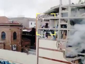Matías, el sacerdote que se quedó atrapado en la quinta planta del edificio que explotó