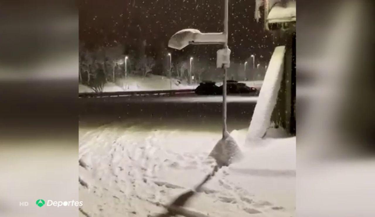 """Sergio Vicente, el entrenador español de baloncesto en el Círculo Polar Ártico: """"Durante medio año no ves el sol"""""""