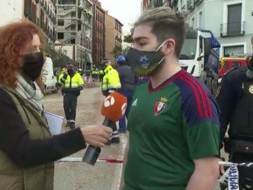 Testigo de la explosión en calle Toledo