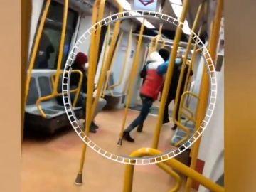 Agresión en el metro de Madrid