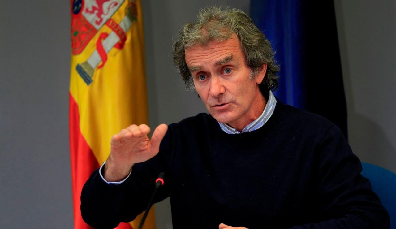 El director del Centro de Alertas y Emergencias (CCAES), Fernando Simón