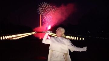 El muy aplaudido espectáculo de Katy Perry para la investidura de Joe Biden