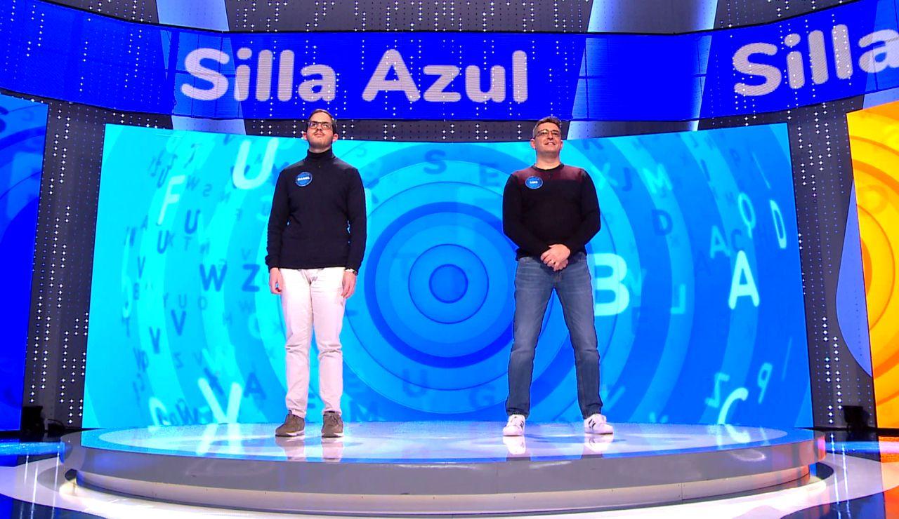 """Los nervios de Luis tranquilizan a Daniel, su rival en la 'Silla Azul': """"Equipara fuerzas"""""""