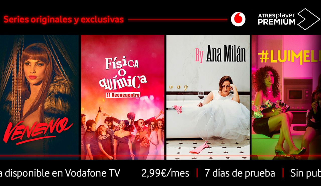 ATRESplayer Premium en Vodafone