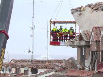 Así será la demolición del edificio de la calle Toledo en Madrid