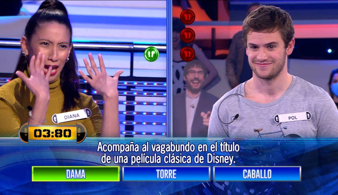 El especial lenguaje entre una concursante y Arturo Valls