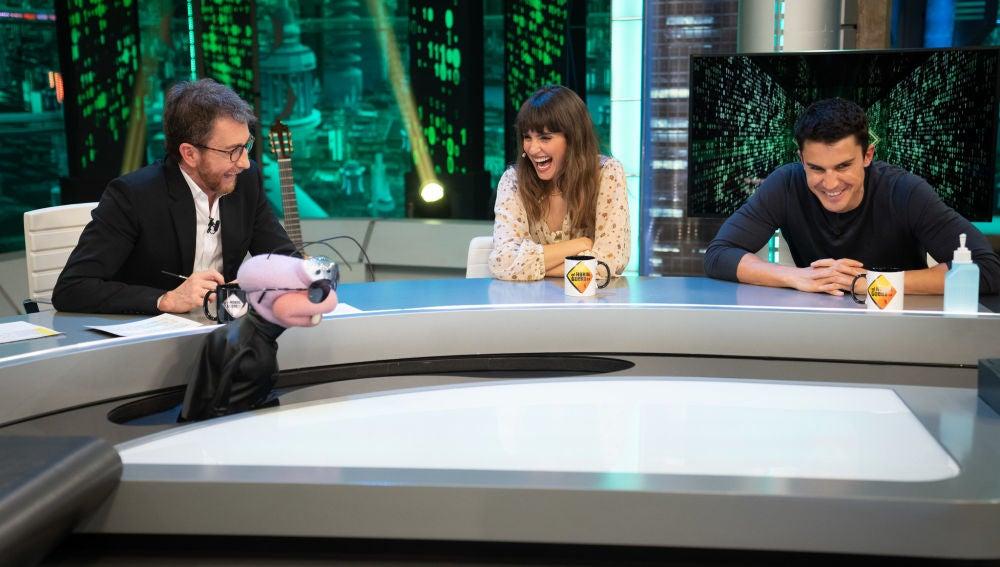 Barrancas somete a Álex González y Verónica Echegui al test definitivo de los dos caminos
